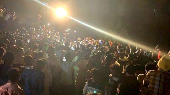 अमृतसर मे दशहरा के कार्यक्रम के दौरान ट्रेन हादसे मे ६० लोगो की जान गयी