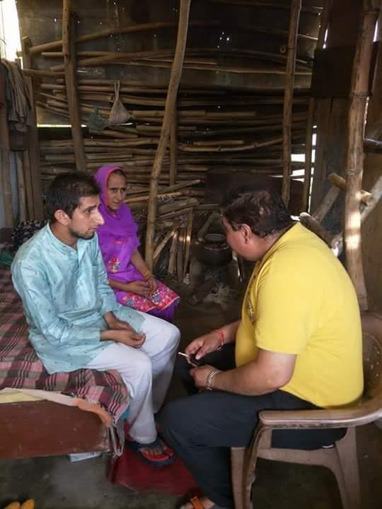 हिमाचल- प्रदेश जिला- मण्डी के एक गरीब बिधवा पर घर के परिवार वालो ने उस पर जुर्म ढाया