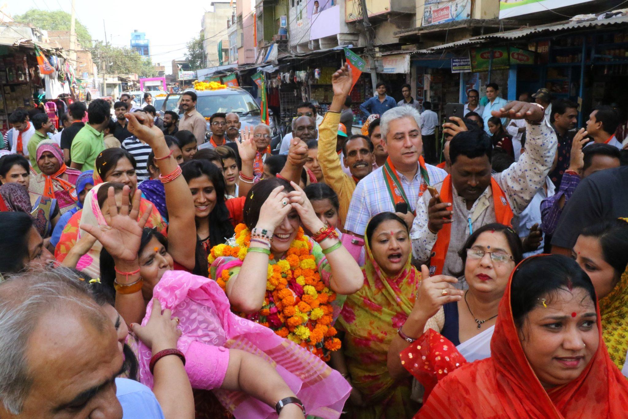 भाजपा का लाडपुरा चुनाव कार्यालय का शुभारम्भ