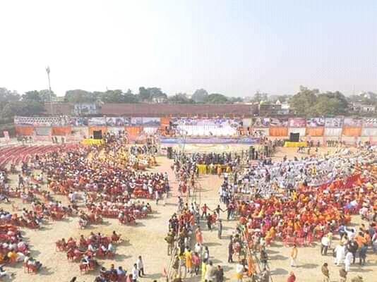 अनुमान से कम मिला विश्व हिंदू परिषद की धर्म सभा को समर्थन, नहीं जुट पाई संभावित भीड़