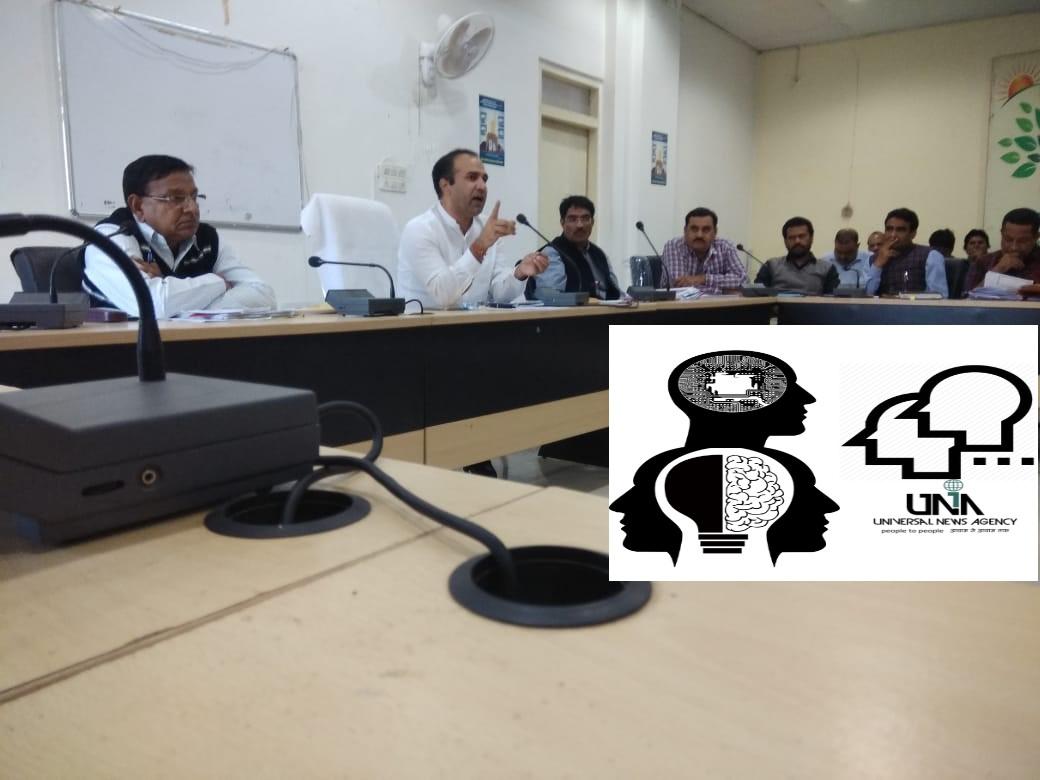 झालावाड़ जिला निर्वाचन अधिकारी ने की चुनाव कार्यो की समीक्षा