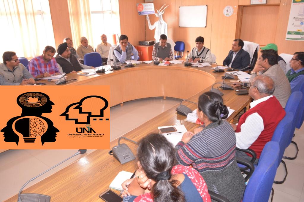 बारां में चुनाव अधिकारियों की बैठक आयोजित