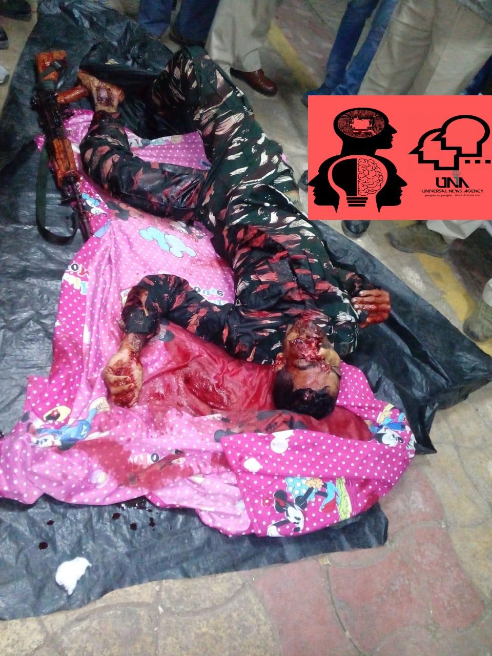 छिंदवाड़ा में ट्रेन की टॉयलेट में सीआरपीएफ के जवान ने अपने आप को मारी गोली