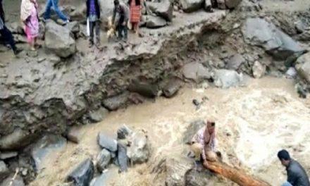 हिमाचल न्यूज़: हिमाचल में बारिश का फिर से कहर रोहड़ू में बादल फटने से मची तबाही